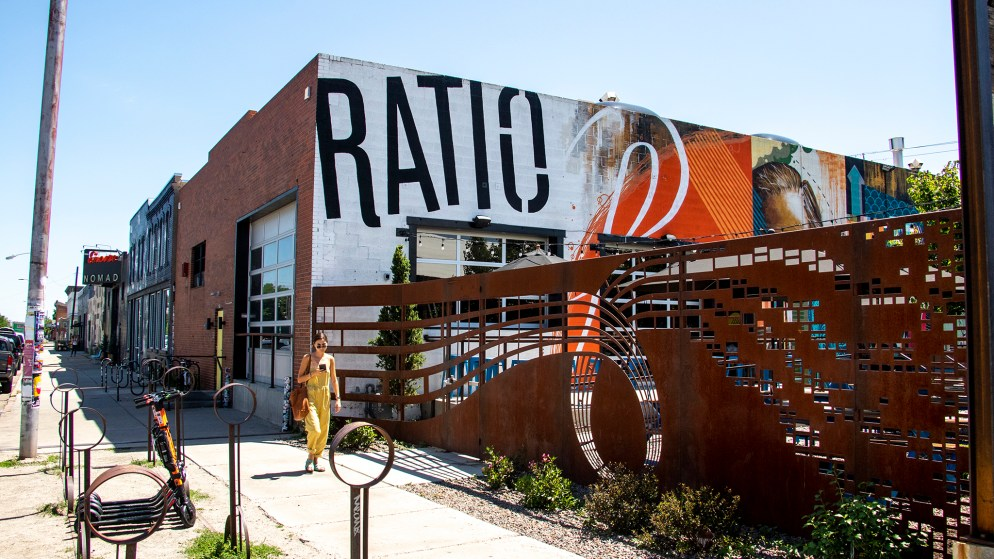 Ratio Beerworks, Five Points, July 9, 2019. (Kevin J. Beaty/Denverite)