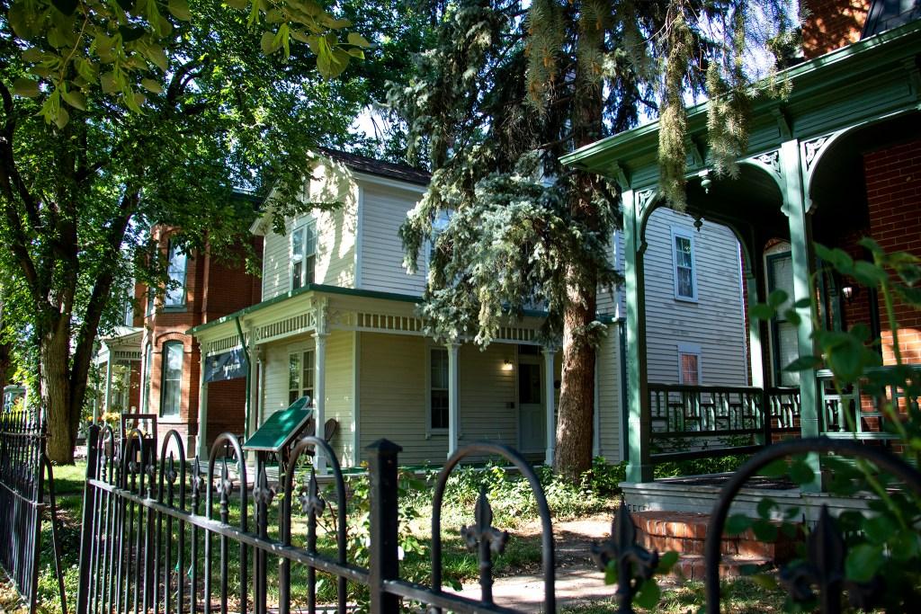 Historic 9th Street on the Auraria campus, Aug. 3, 2019. (Kevin J. Beaty/Denverite)