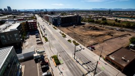 Development on Brighton Boulevard, Five Points, Sept. 24, 2019. (Kevin J. Beaty/Denverite)