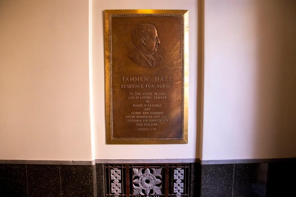 Tammen Hall on the campus of St. Joseph Hospital, Oct. 15, 2019. (Kevin J. Beaty/Denverite)