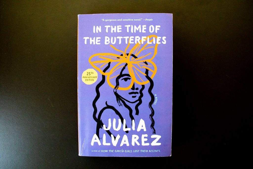 "Julia Alvarez's ""In The Time of Butterflies."" (Kevin J. Beaty/Denverite)"