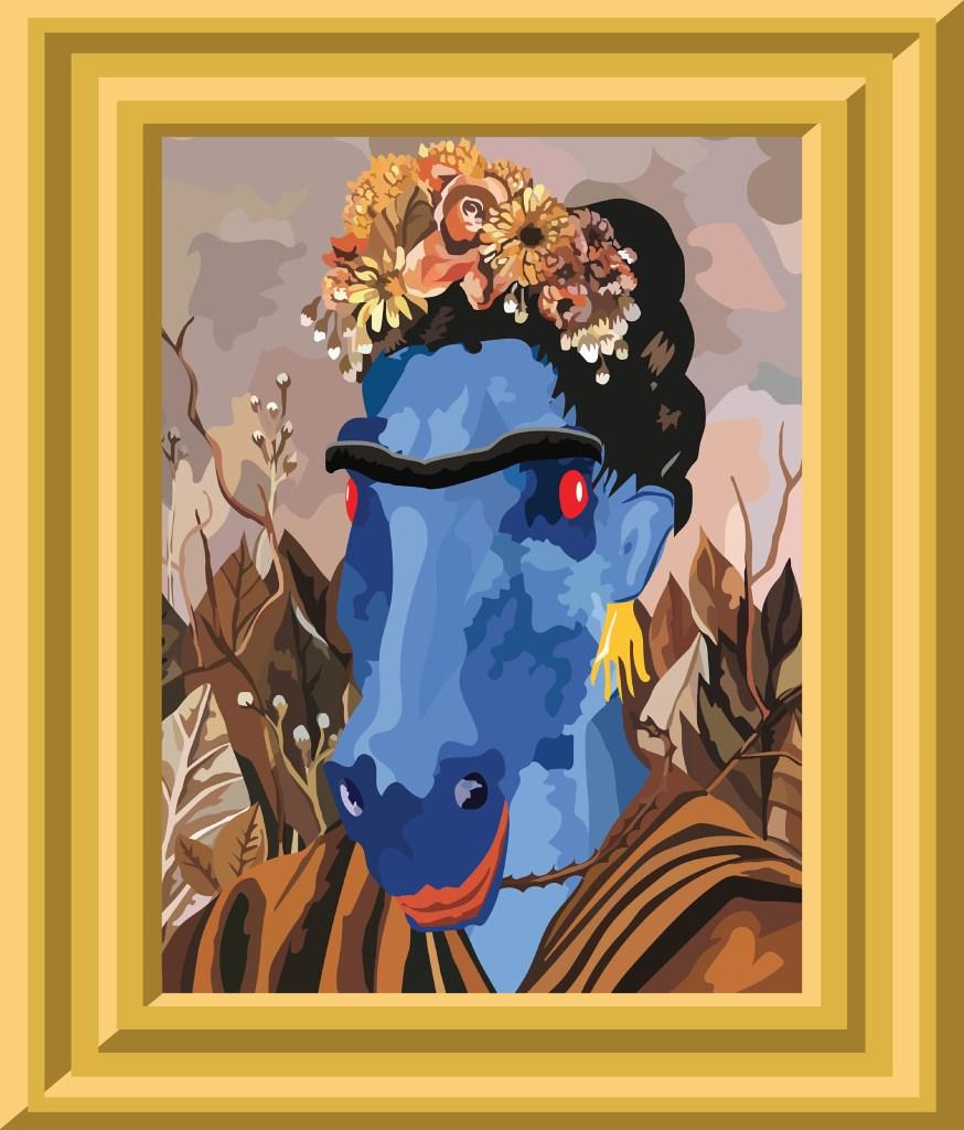(Frida Kahlo and Kevin J. Beaty)