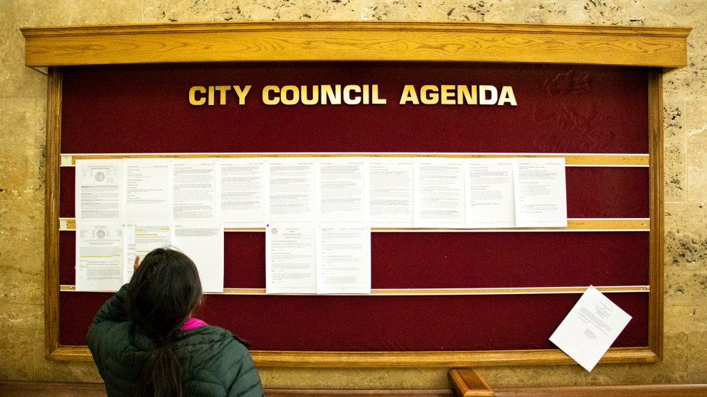 Denver City Council, Jan. 6, 2020. (Kevin J. Beaty/Denverite)