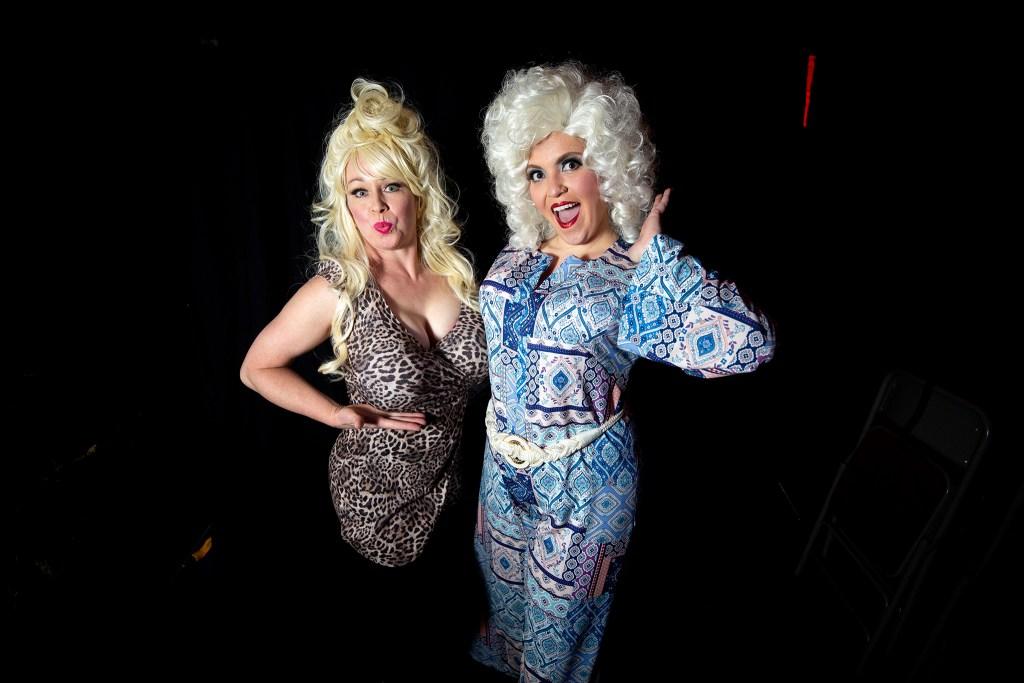 Dolly Day Denver organizers Lynda Kelley and Annie Medina pose for a portrait. Jan. 26, 2020. (Kevin J. Beaty/Denverite)