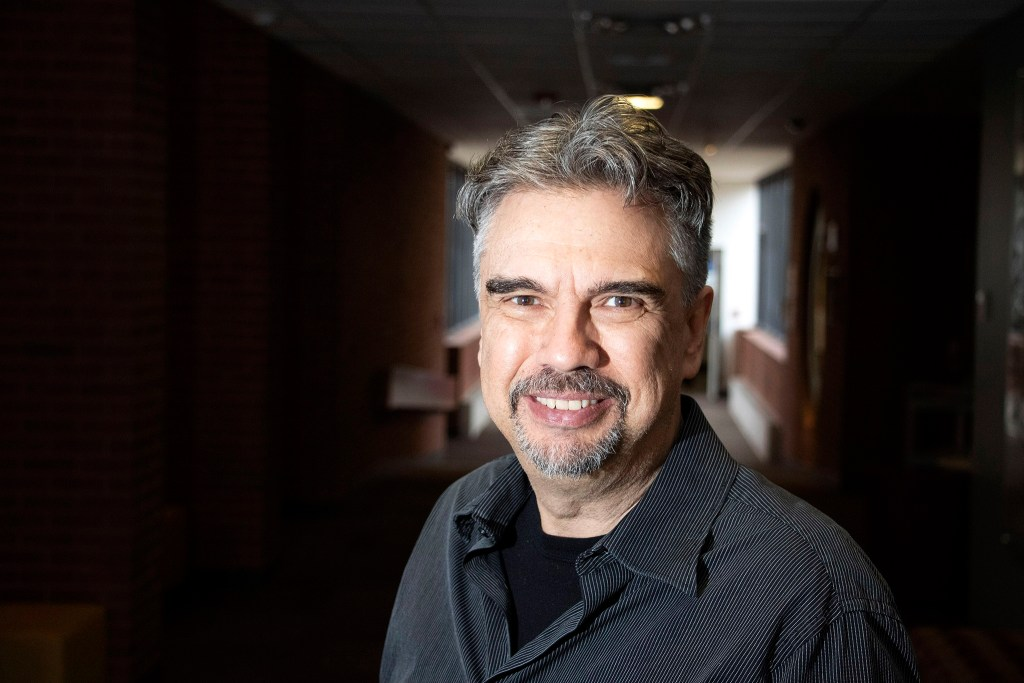 Iliff School of Theology Professor Miguel De La Torre poses for a portrait, Jan. 29, 2020. (Kevin J. Beaty/Denverite)