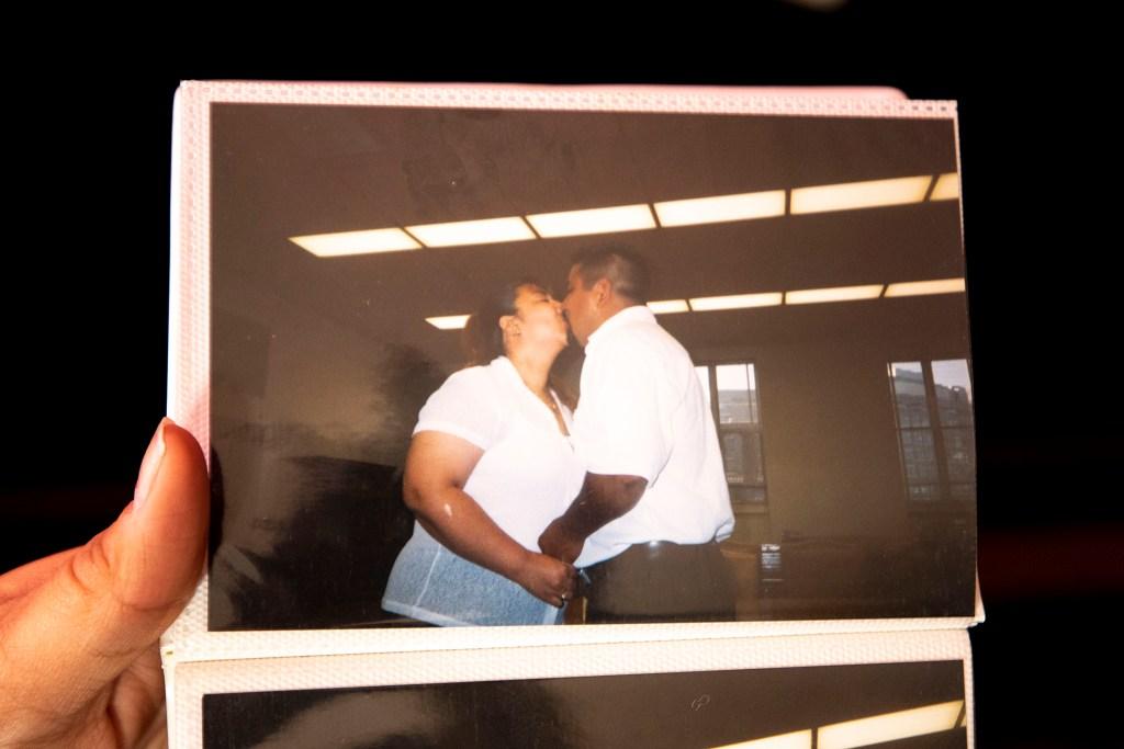 George and Christina Zaldivar's wedding day at the Denver City and County Building. (Kevin J. Beaty/Denverite)