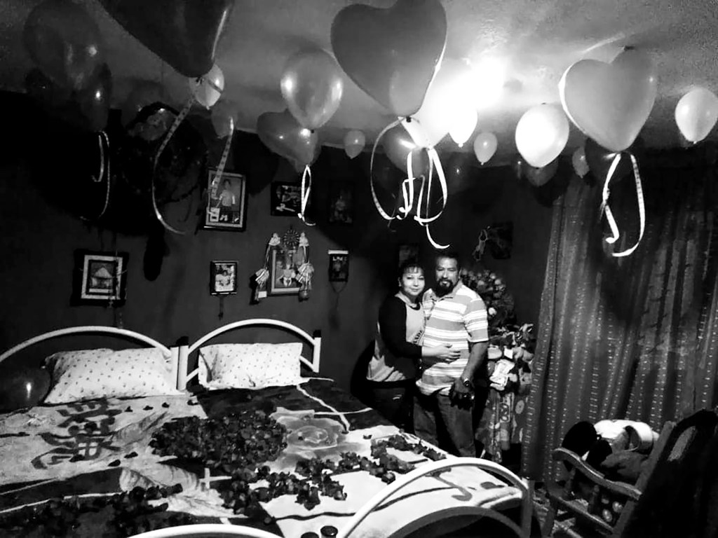 George and Christina are reunited for Valentine's Day in Mexico City. (Courtesy: Christina Zaldivar)