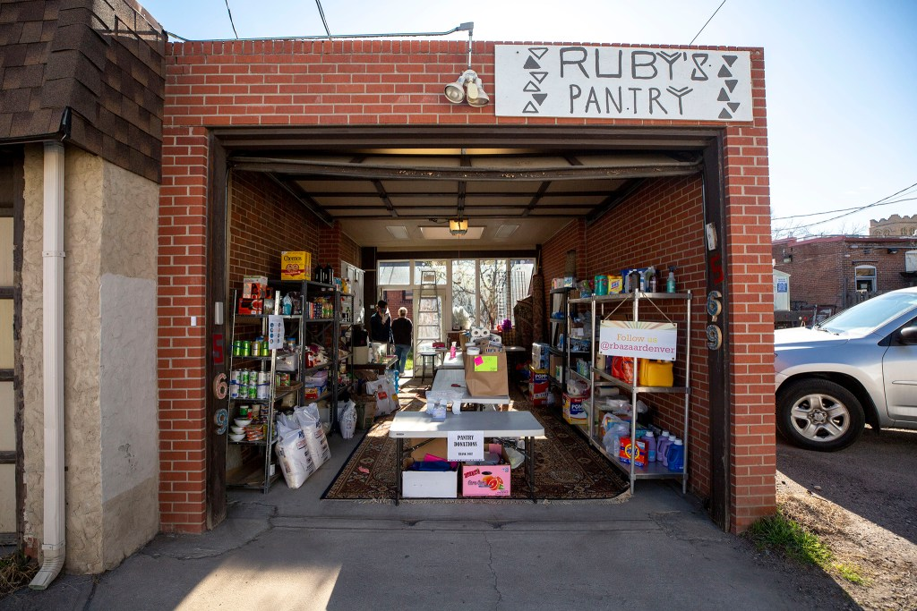 Ruby's Pantry on South Pearl Street. April 21, 2020. (Kevin J. Beaty/Denverite)