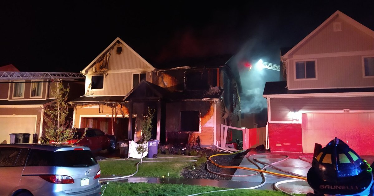 Overnight house fire in Green Valley Ranch leaves five dead