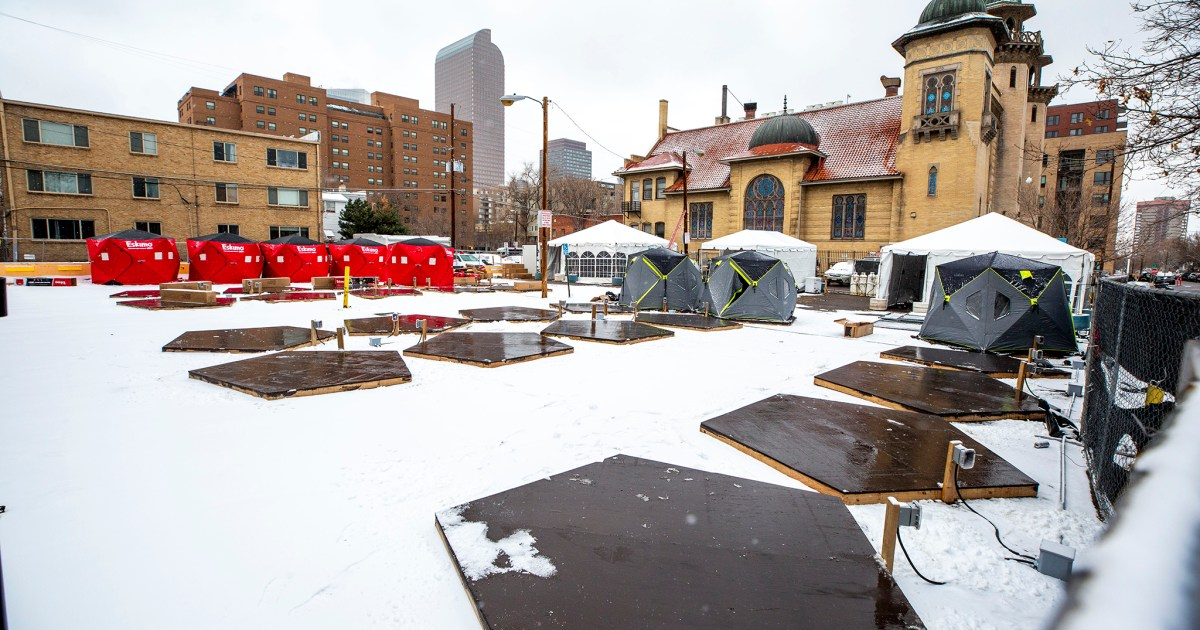 Denver gives nearly a million dollars to temporary sanctioned campsites for people experiencing homelessness