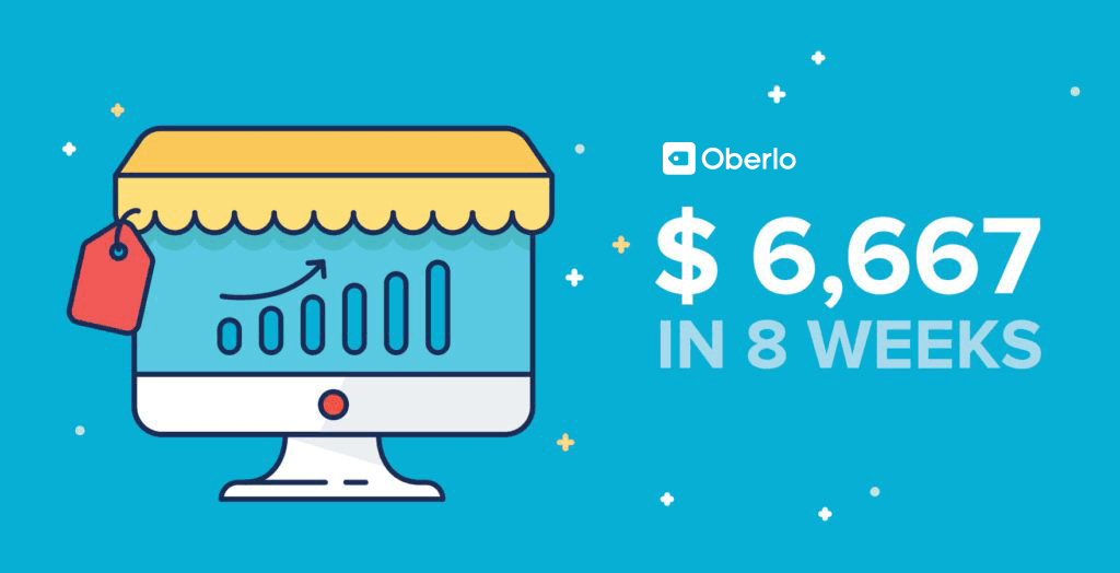 How I Built a Dropshipping Store That Made $6,667 in Under 8 Weeks