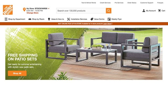 The Home Depot - color meanings