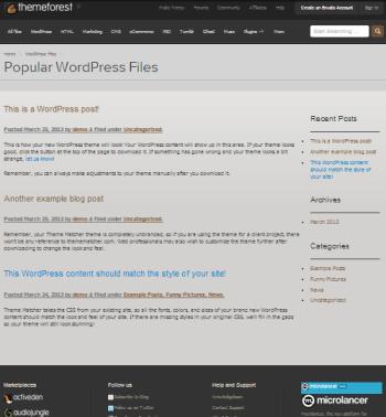 Convertir site web html en theme wordpress