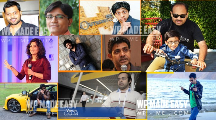 TOP 10 Indian Bloggers of 2016 with Blogging Earnings