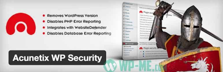 Acunetix WordPress Security plugin