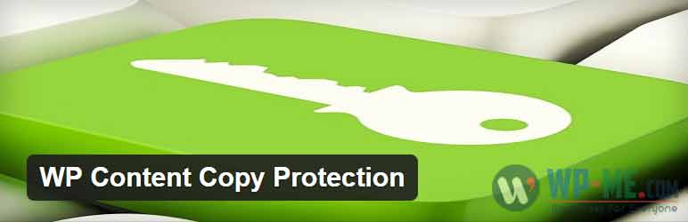 WP Content Copy Protection WordPress plugin