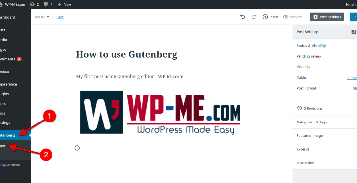 Gutenberg : How to use the New WordPress Gutenberg Editor