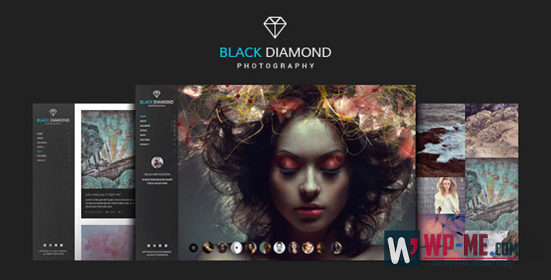 DIAMOND Photography WordPress Theme