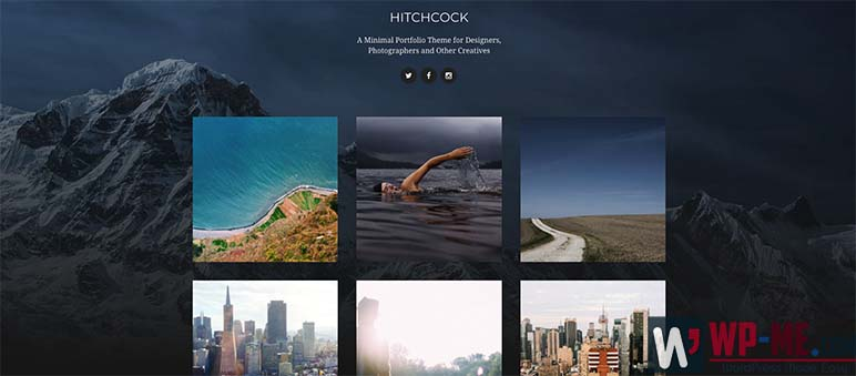 Hitchcock WordPress Theme for Photographers