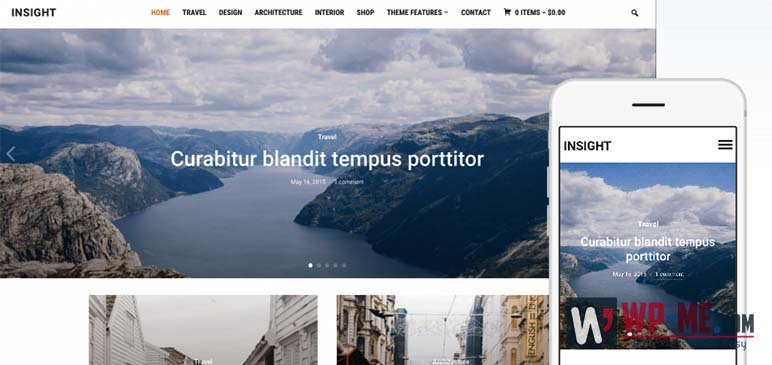 Insight WordPress Theme