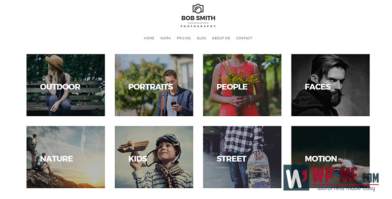 Photographer WordPress Photography Theme For Photographers
