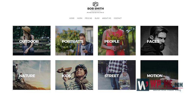 Photographer WordPress Photography Theme For Photographers