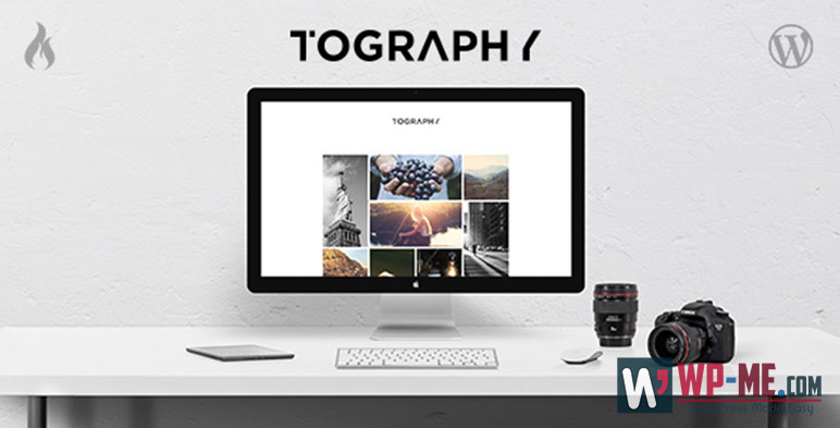 Tography Photography WordPress Theme