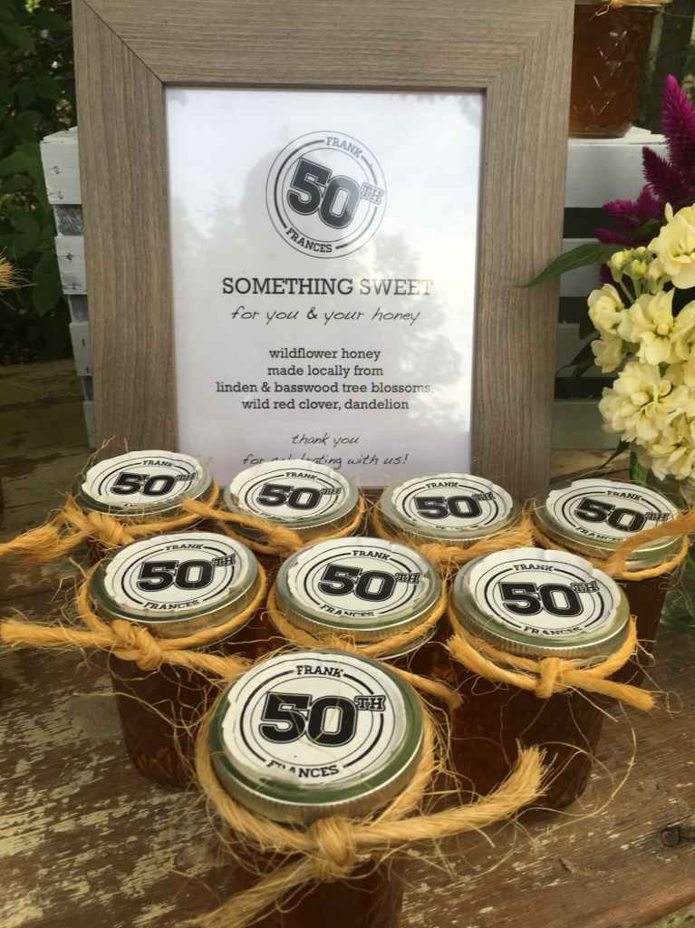 Say Thanks With These 50th Birthday Party Favors Partyslate