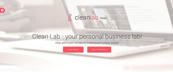 Fichiers .po et .mo de la traduction française du thème Cleanlab pour WordPress