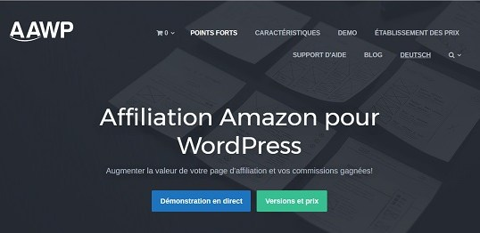 Traduction française de Amazon Affiliate for WordPress