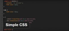 simple-css