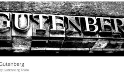 WordPress 5.0 Gutenberg – What is it?  How to Prepare