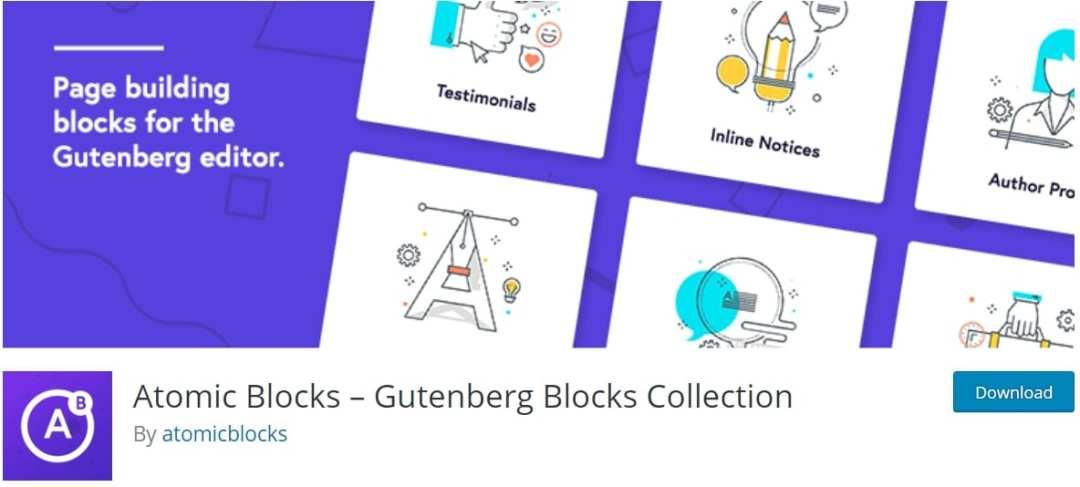 Atomic Blocks plugin for the Sharing Icons Block