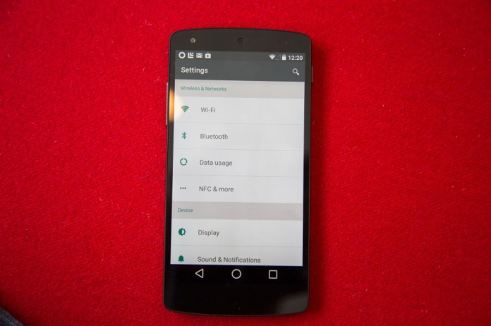 Android L foto 8