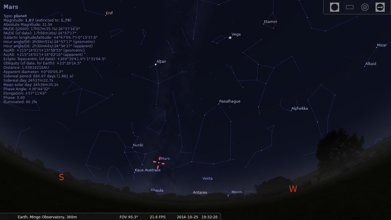 Stellarium Oct26 7,30PM.