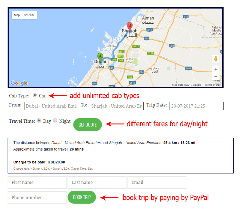 AB Google Map TYravel Premium is just released!