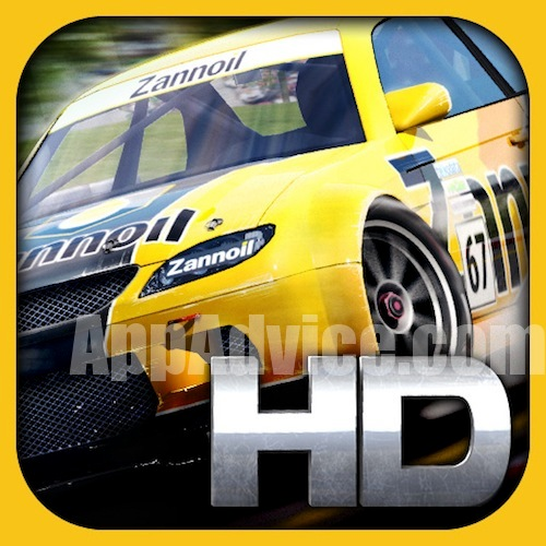 real racing hd1 Real Racing is Real on the iPad and Will Be  Included in the iPad App Store Launch   Plus Screenshot