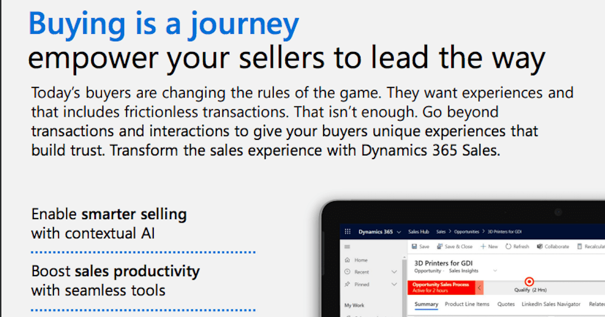 Buying is a journey