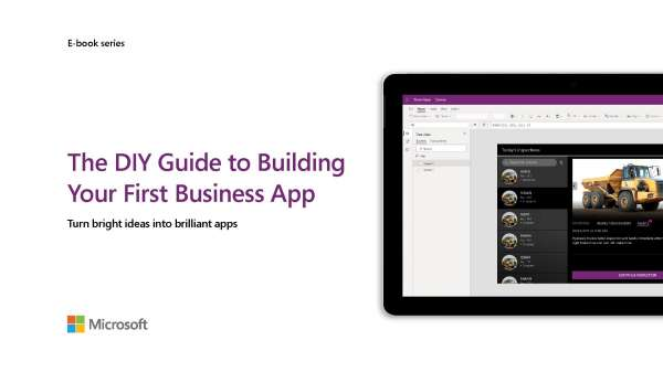 The DIY guide to building your first business app