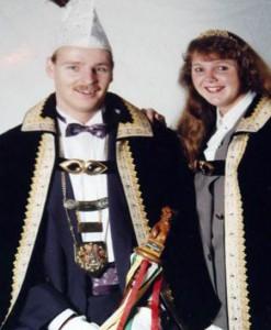 james93 1994 Prins James Brouns en prinses Nel