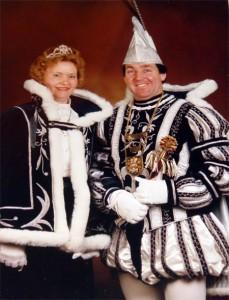 1990 - Prins John Zeegers en Prinses Bertha
