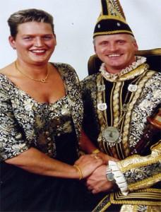 peter99 2000 Prins Peter Troquete en Prinses Marie-Jose