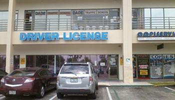 Oficinas para sacar la licencia de conducir en Miami