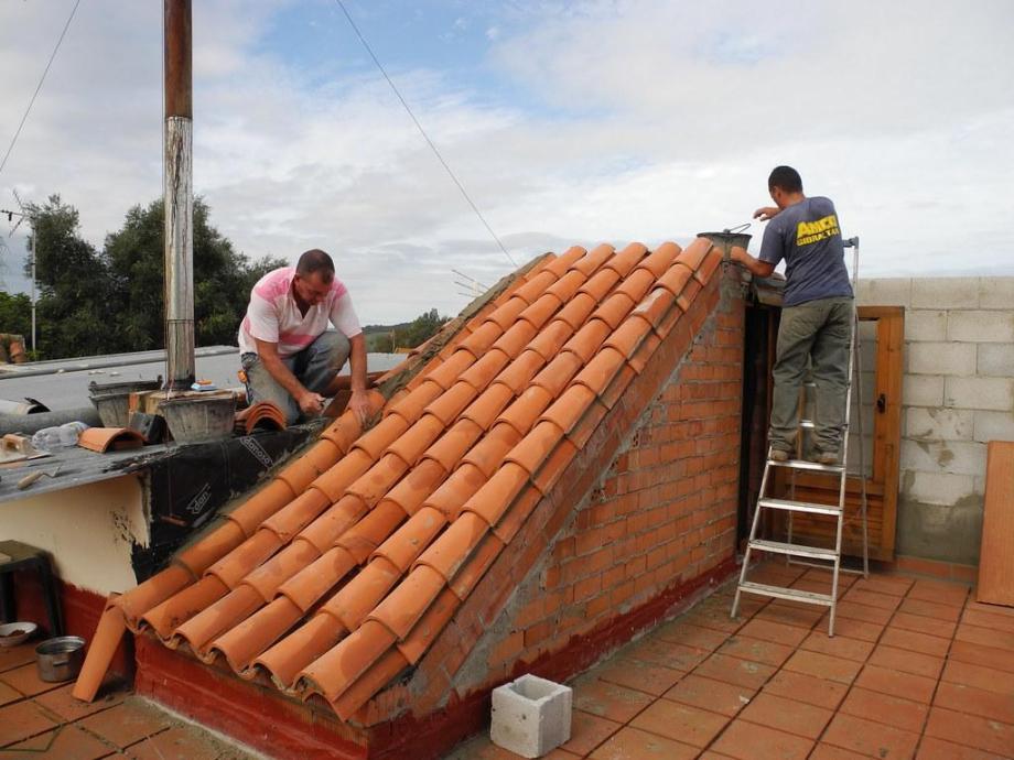 trabajo de roofing