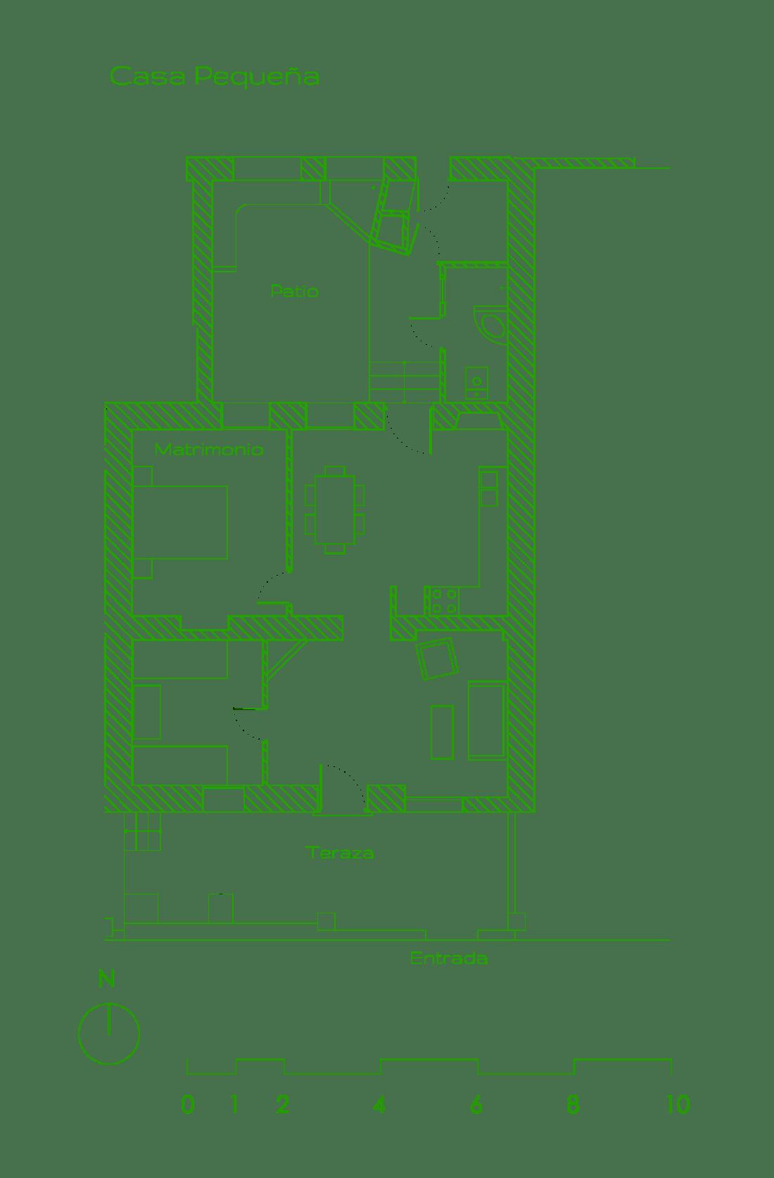 Planta Casa Pequeña