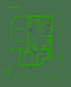Planta Casa Sur