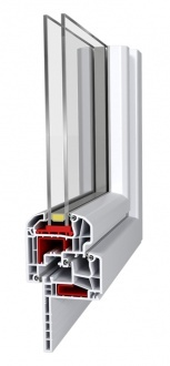 Fenêtre PVC -Aluplast– IDEAL 5000 Reno