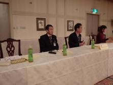 第二副会長L.竹村公一も出席。