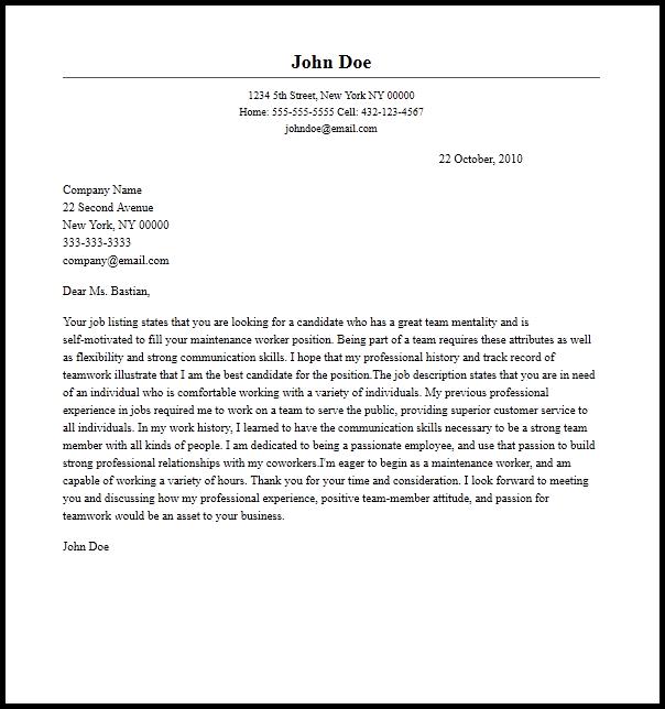 Summer Teacher Cover Letter Sle