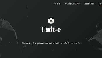 Unit-e, la criptomoneda que promete miles de transacciones por segundo